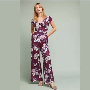 Anthropologie Yumi Kim Floral Jumpsuit